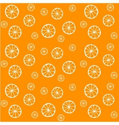 background with oranges vector image vector image