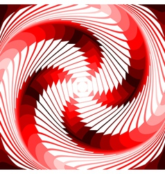 Design colorful vortex movement background vector image