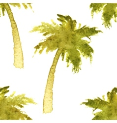 palm tree seamless vector image