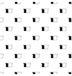 Toast bread pattern simple style vector