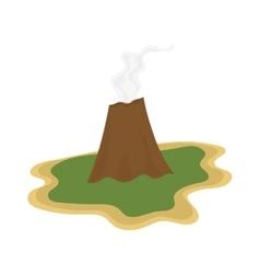 Volcano vector image vector image