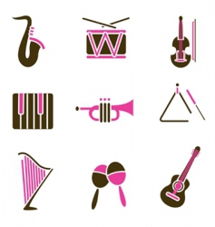 instrument icon vector image