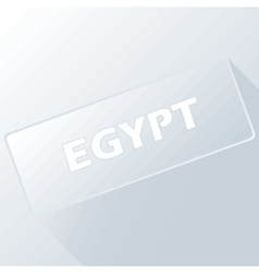 Egypt unique button vector