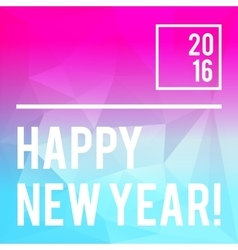 Modern new year card or party design vector