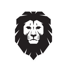 Lion head sign concept vector