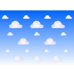 cloud metal icon vector image