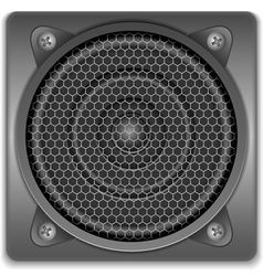 Sound speaker icon vector