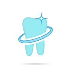 Dental logo dent icon vector