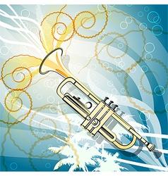 Seaside jazz vector image