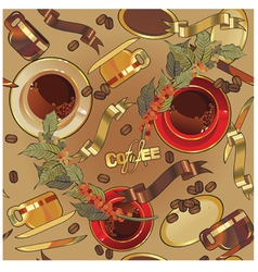 Coffee background44 vector