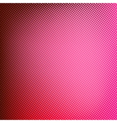 Halftone red background vector image
