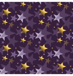 Concept abstract starry night modern style vector
