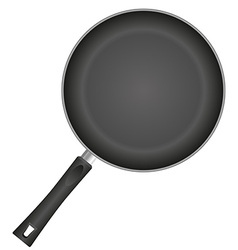 frying pan 01 vector image vector image
