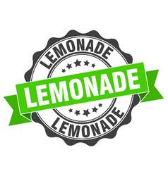 Lemonade stamp sign seal vector