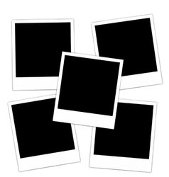 Collection photo frame vector image
