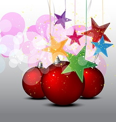 Christmas decorative background vector