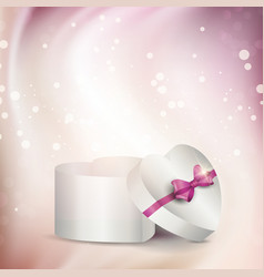 Abstract gift box background vector image