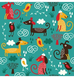 fabric children design vector image