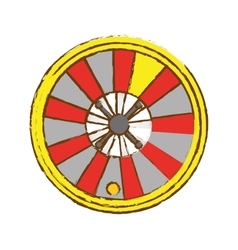 Gambling games design vector