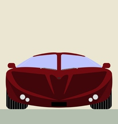 super car vector image vector image