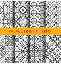 Seamless pattern royal pattern vector