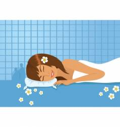 Spa picture vector