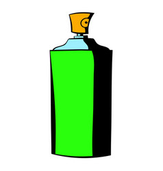 bottle of cologne icon icon cartoon vector image