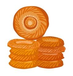 orient bread vector image