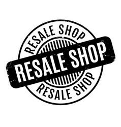 Resale shop rubber stamp vector