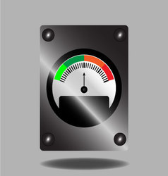 Spectral indicator vector image vector image