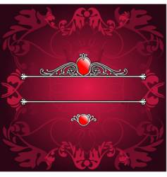decorative banner vector image