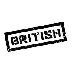 British rubber stamp vector