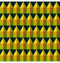Color rhombus seamless pattern vector