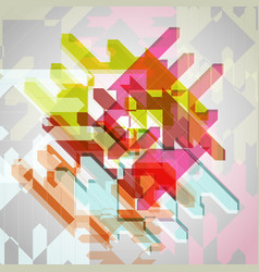 abstract colorful eps10 background vector image vector image