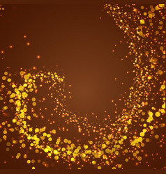 abstract magical shimmering glow background vector image
