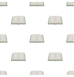 Book icon in cartoon style isolated on white vector