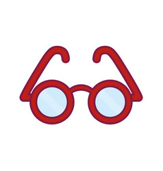 glasses icon imag vector image