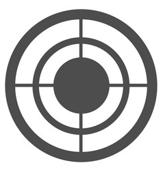 Target icon vector