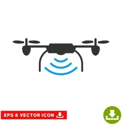 Radio transmitter airdrone eps icon vector