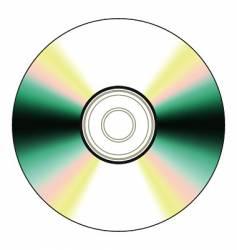 Black cd vector