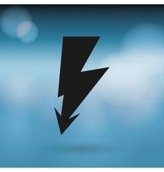 energy icon design vector image
