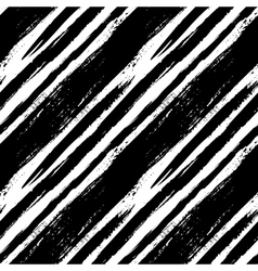Black and white striped pattern vector image vector image