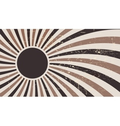 Coffee abstract hypnotic background vector image
