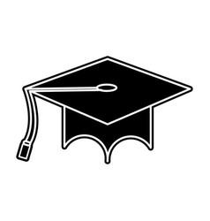 Isolated cap design vector