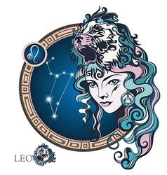Leo vector image