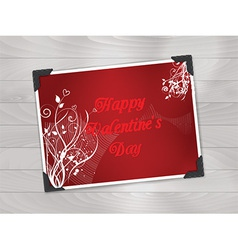 valentines day photo background 1612 vector image
