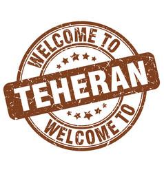 Welcome to teheran vector