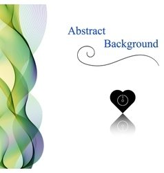 Abstract Background Vertical vector image