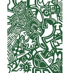 Abstract wallpaper football soccer vector
