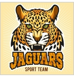 Jaguars - sport team design vector